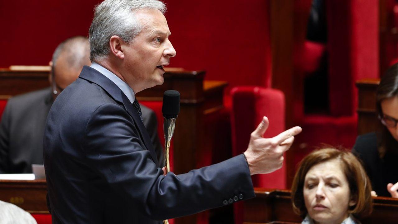 Bruno Le Maire, le ministre des Finances, renvoie à la rentrée de possibles coupes sur la niche fiscale sur le mécénat d'entreprise, pour l'instant exemptée d'efforts.