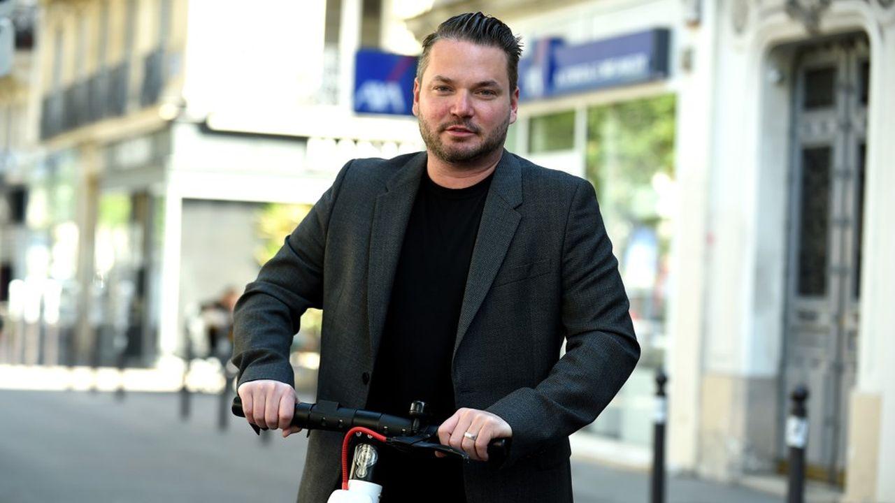 Travis VanderZanden est le PDG et fondateur de Bird.