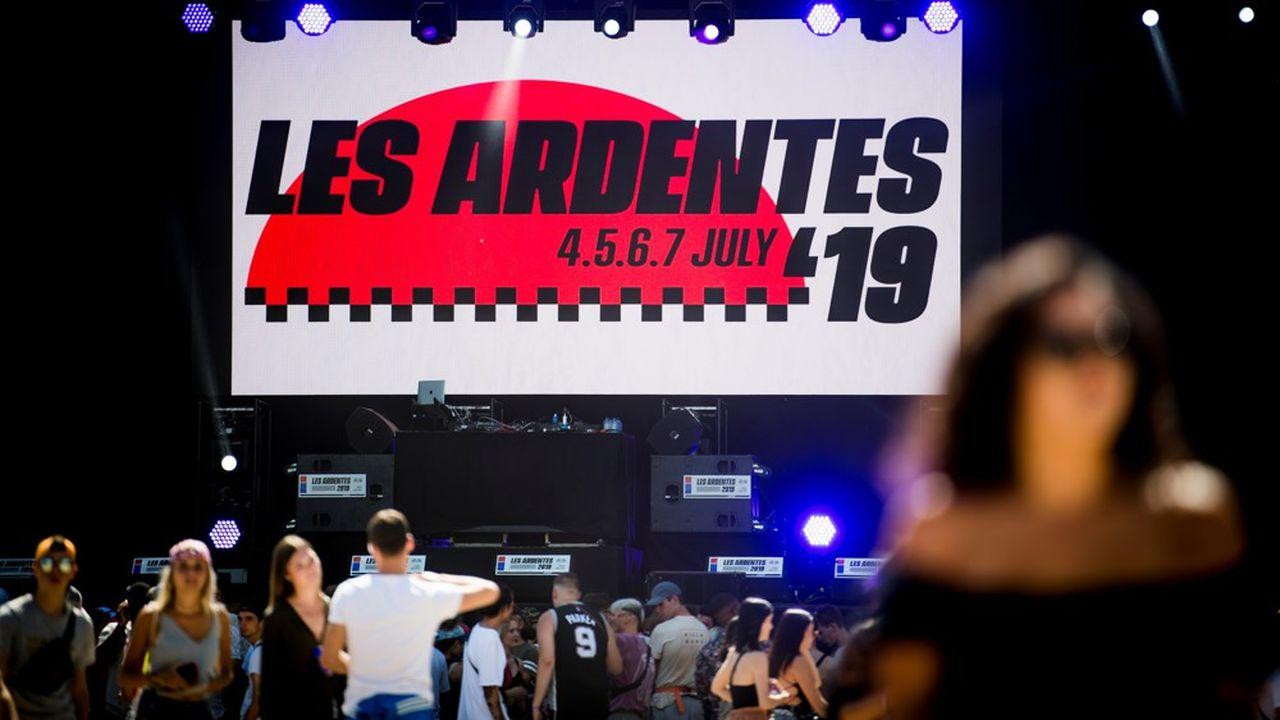 Les Ardentes ont attiré 100.000 personnes à Liège début juillet