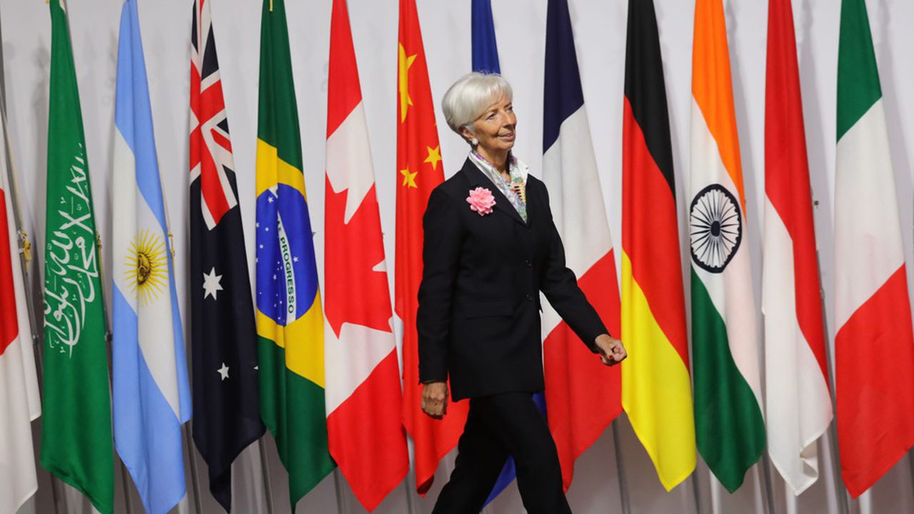 La Française Christine Lagarde va se hisser à la tête de la Banque centrale européenne.