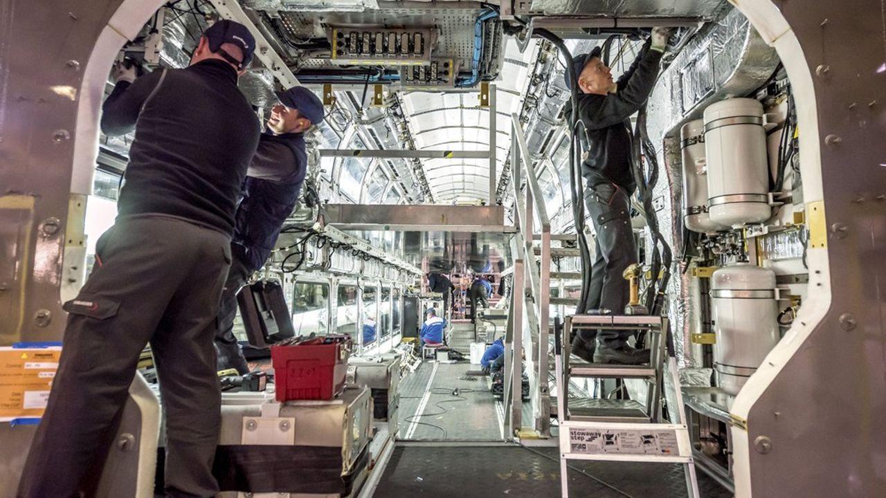 Le site de production Bombardier de Crespin fabrique notamment les rames Regio 2N pour les TER à deux niveaux.