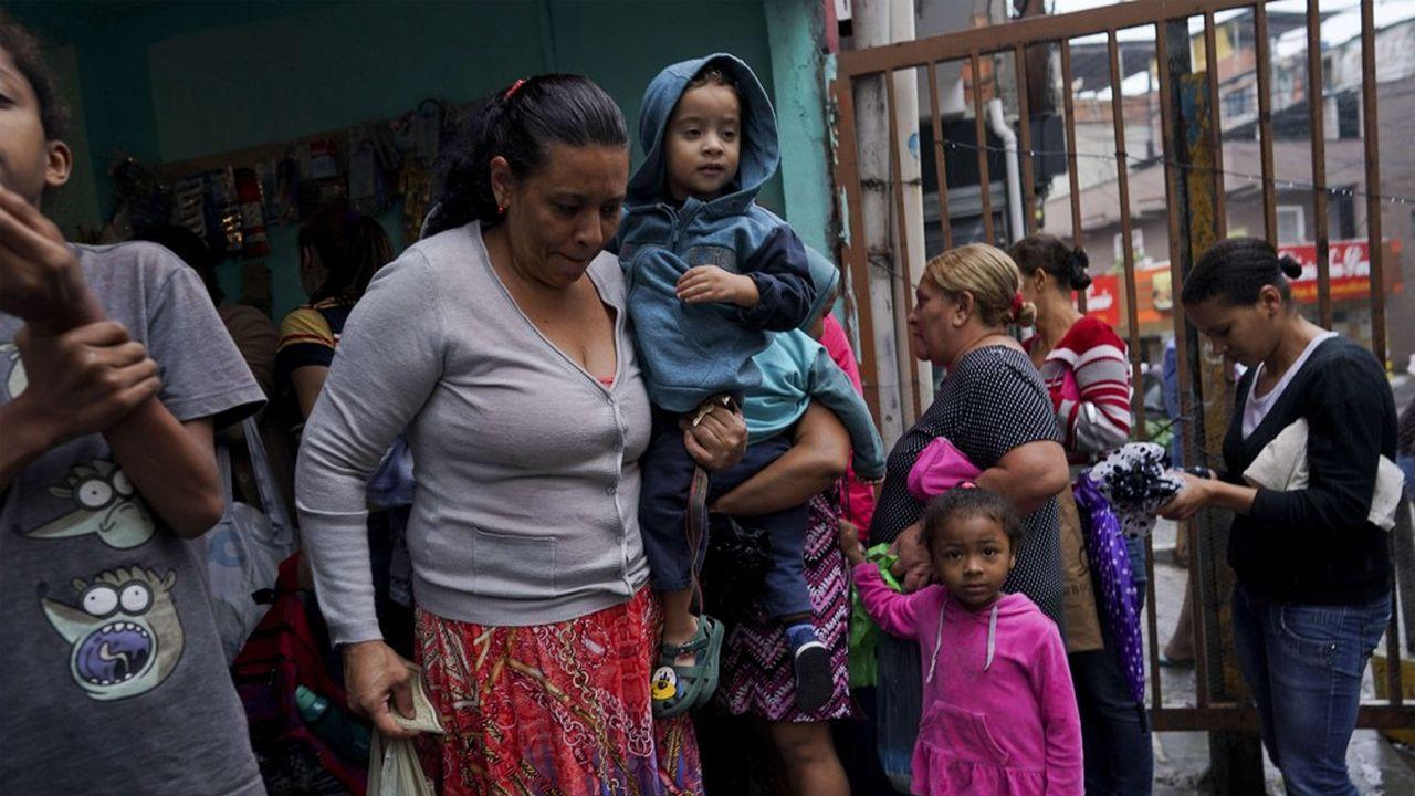En 2050, le Brésil comptera 231millions d'habitants contre 207millions mi-2017. Sur ce total, 26,5% vivent sous le seuil de pauvreté.