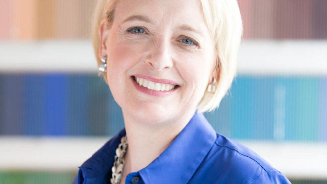 Julie Sweet, la nouvelle patronne du géant américain Accenture.