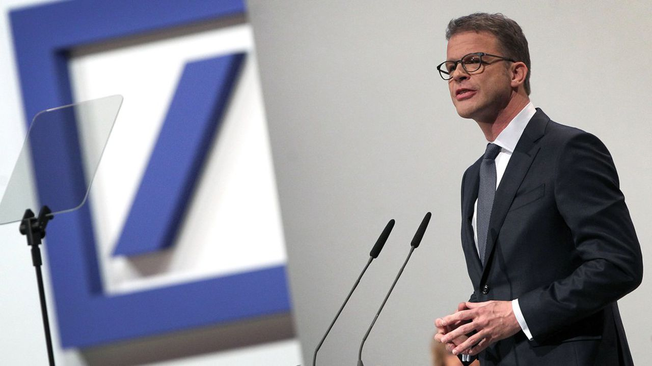 Deutsche Bank : Christian Sewing fait la pédagogie de ses mesures choc