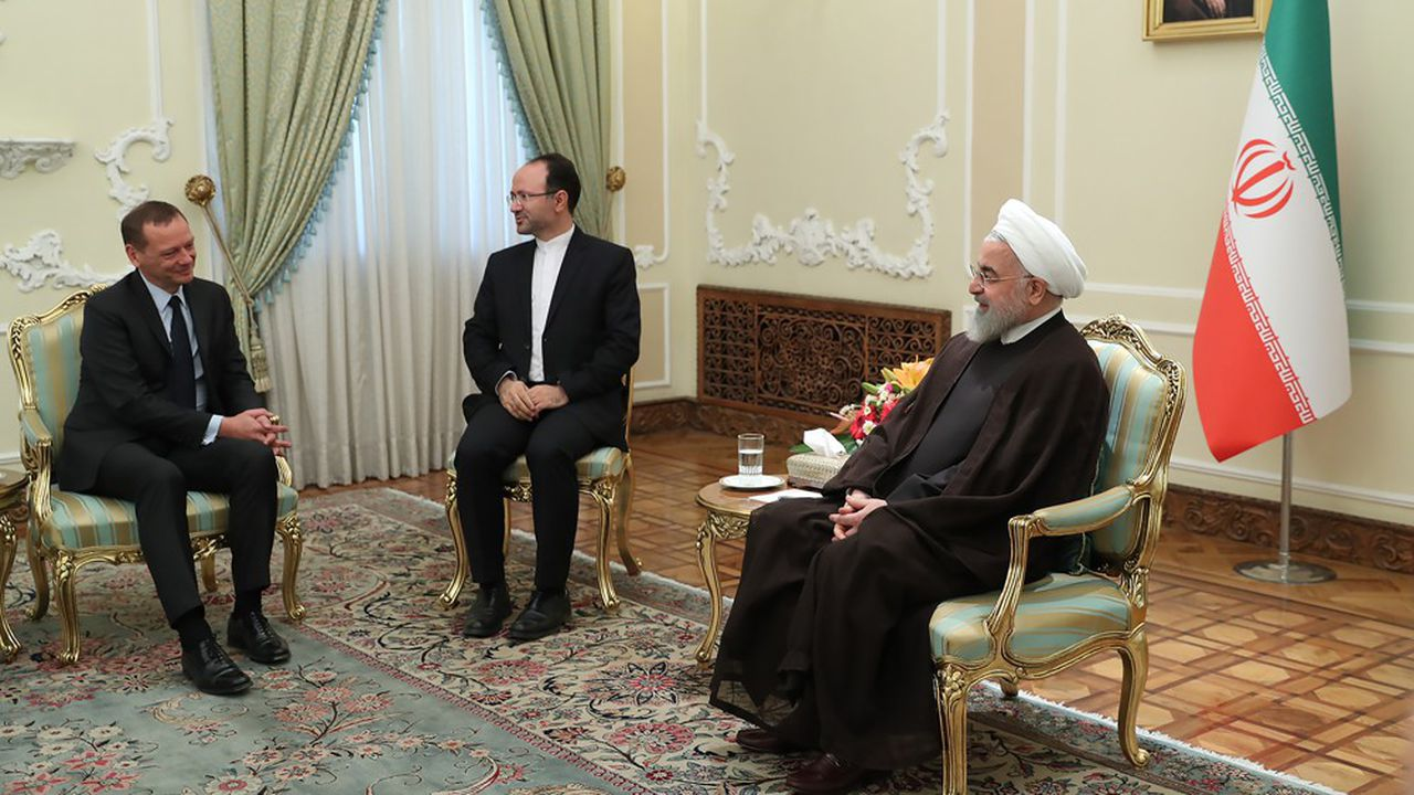 Le président Hassan Rohani avait reçu mercredi 10 juillet Emmanuel Bonne, le conseiller diplomatique d'Emmanuel Macron pour discuter de la crise en cours avec les Etats-Unis.
