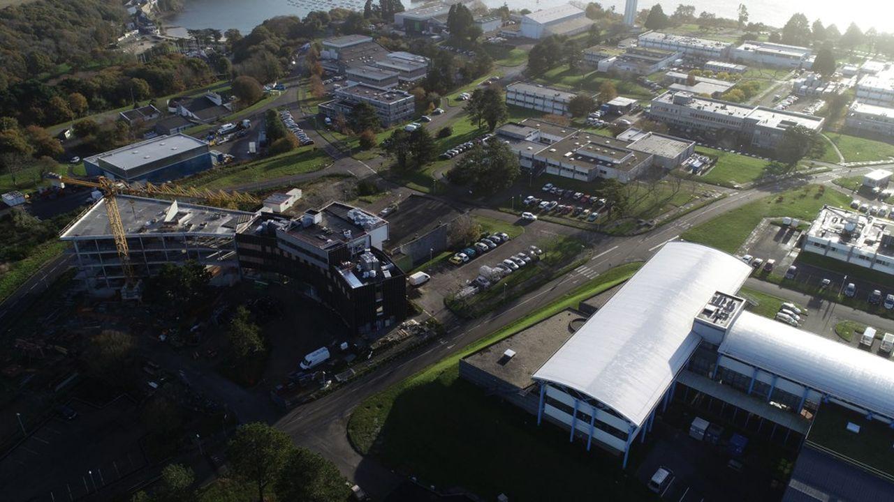 Le campus de l'Ifremer à Brest.