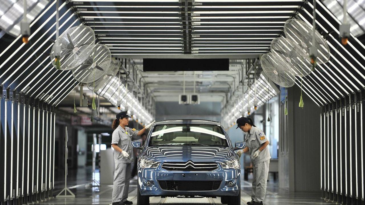 PSA dans le Monde: 1,9 million d'unités vendues au premier semestre