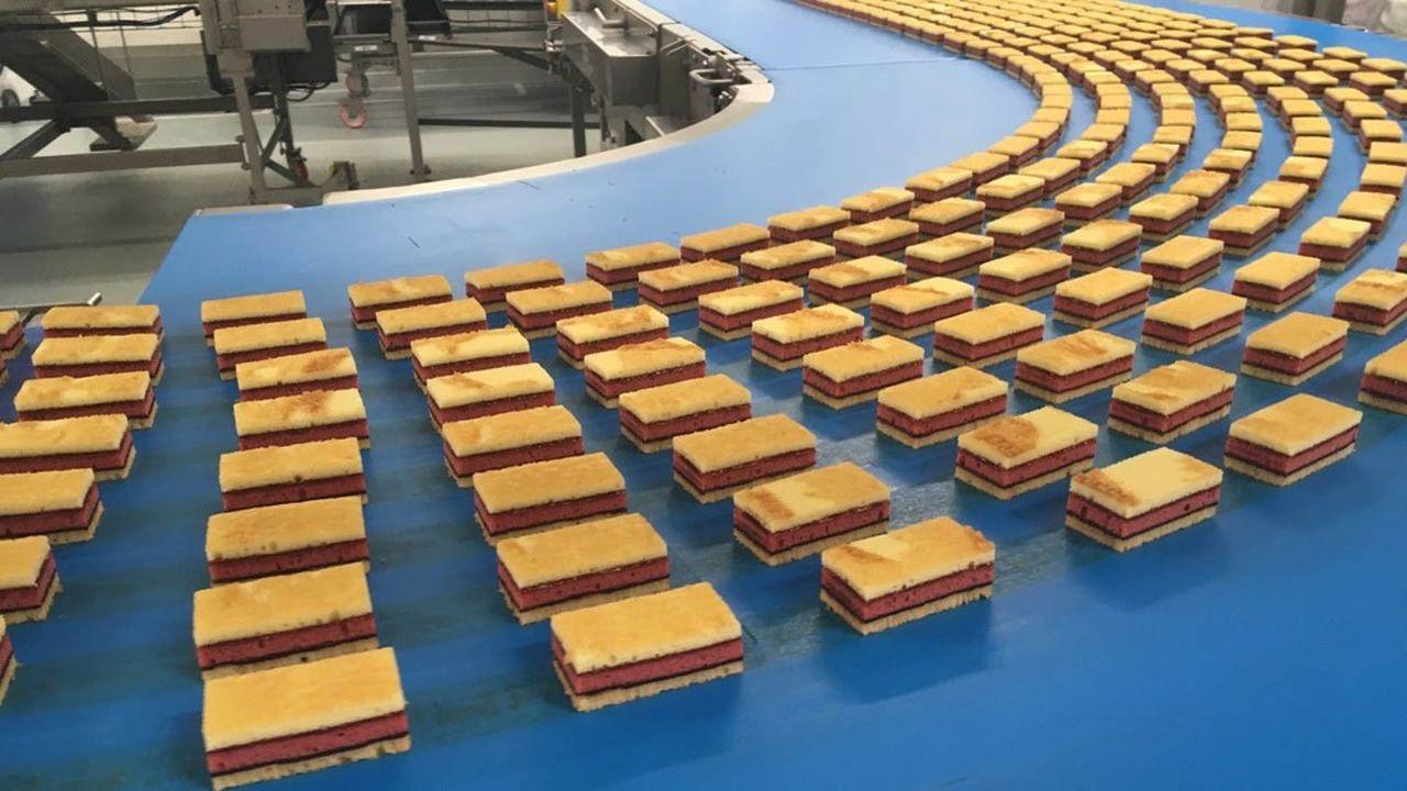 Le nouveau gâteau de Brossard, le Crac & Moi allie génoise et feuille de chocolat craquant.