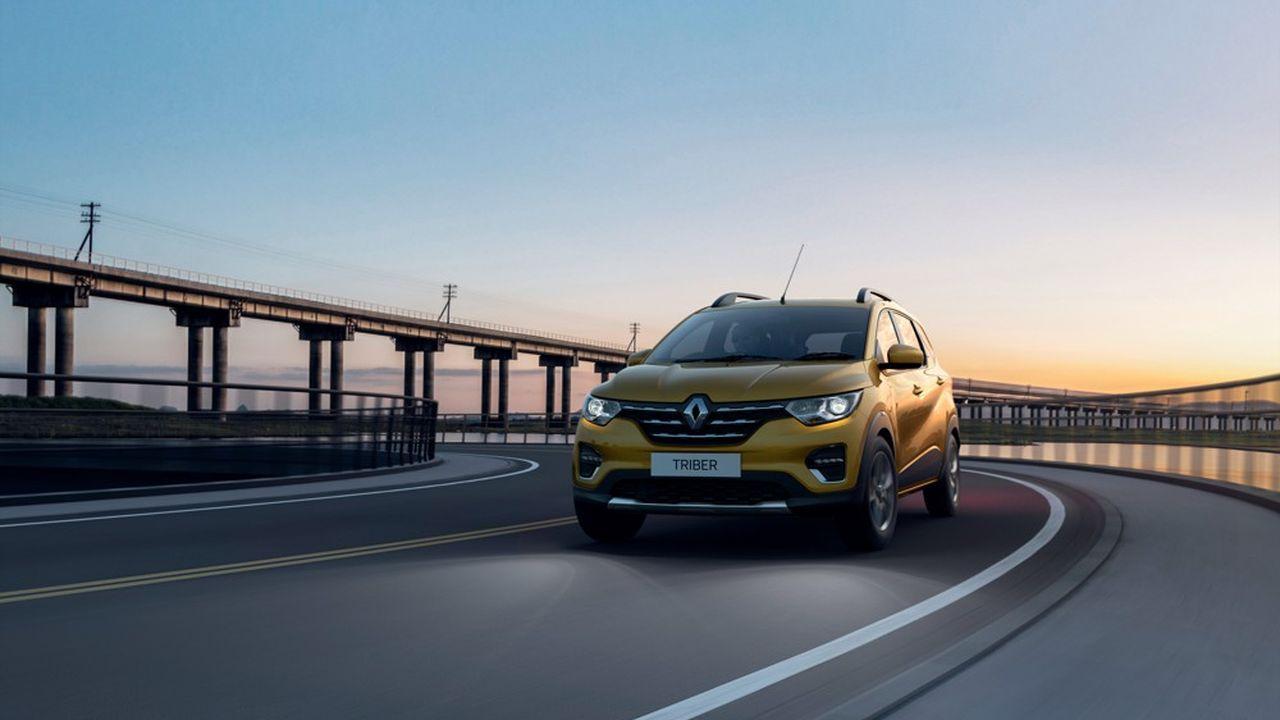 En Inde, Renault lance un nouveau SUV pour relancer les ventes
