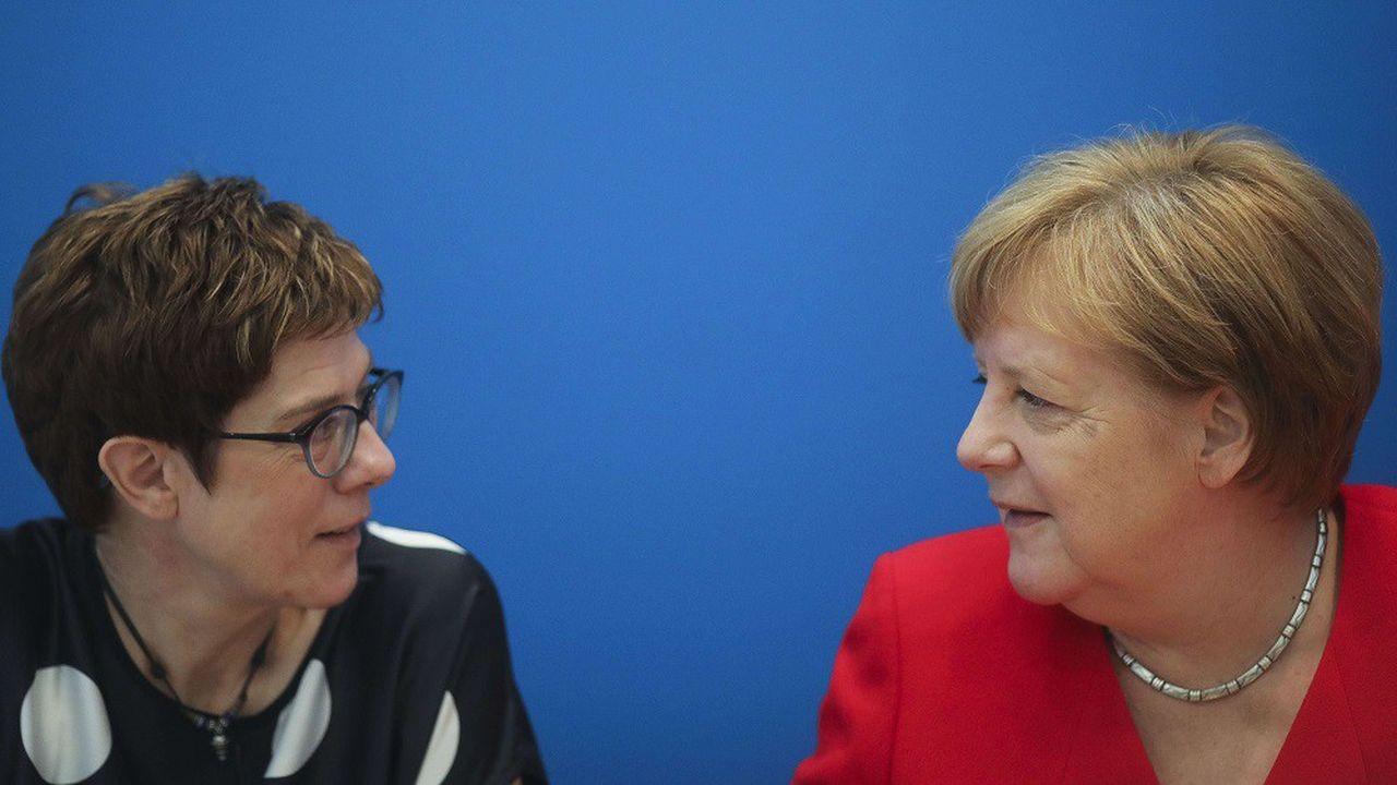 Aux commandes du ministère de la Défense, Annegret Kramp-Karrenbauer devra convaincre l'opinion qu'elle peut prendre le relais d'Angela Merkel à la tête de l'Allemagne.