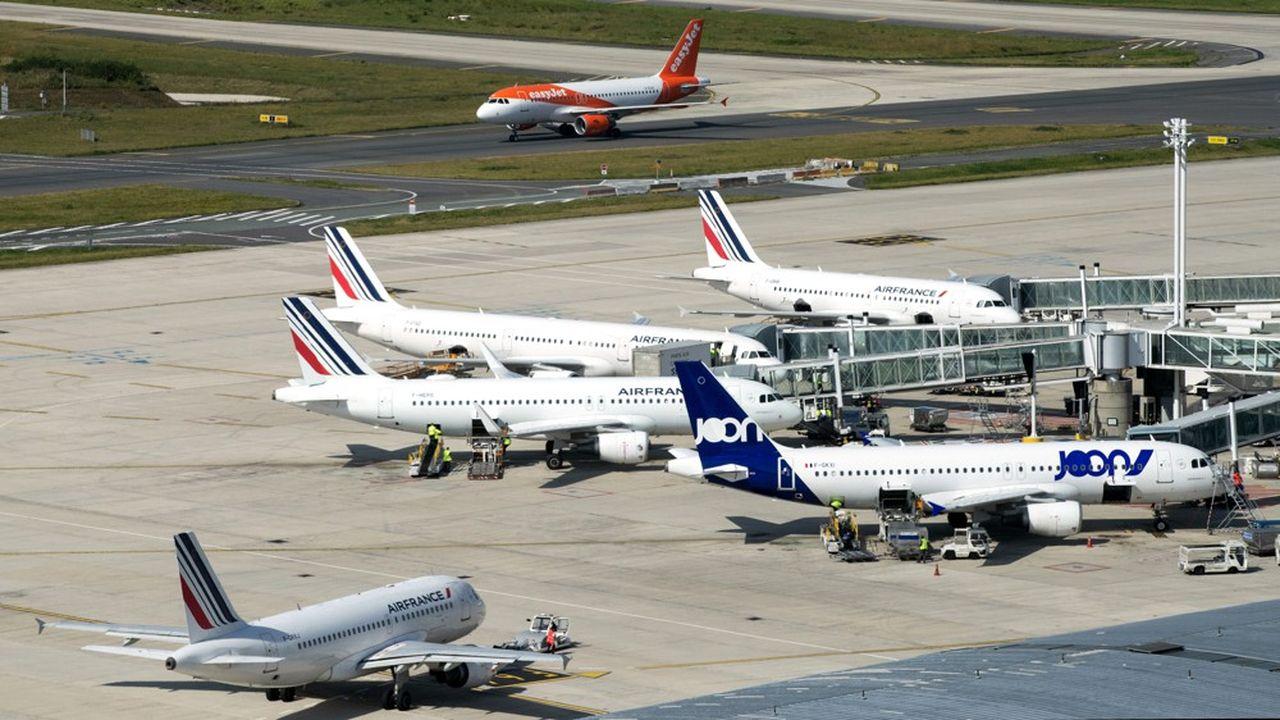 Les compagnies aériennes doivent faire face à desniveaux de taxation très différents selon les pays européens.