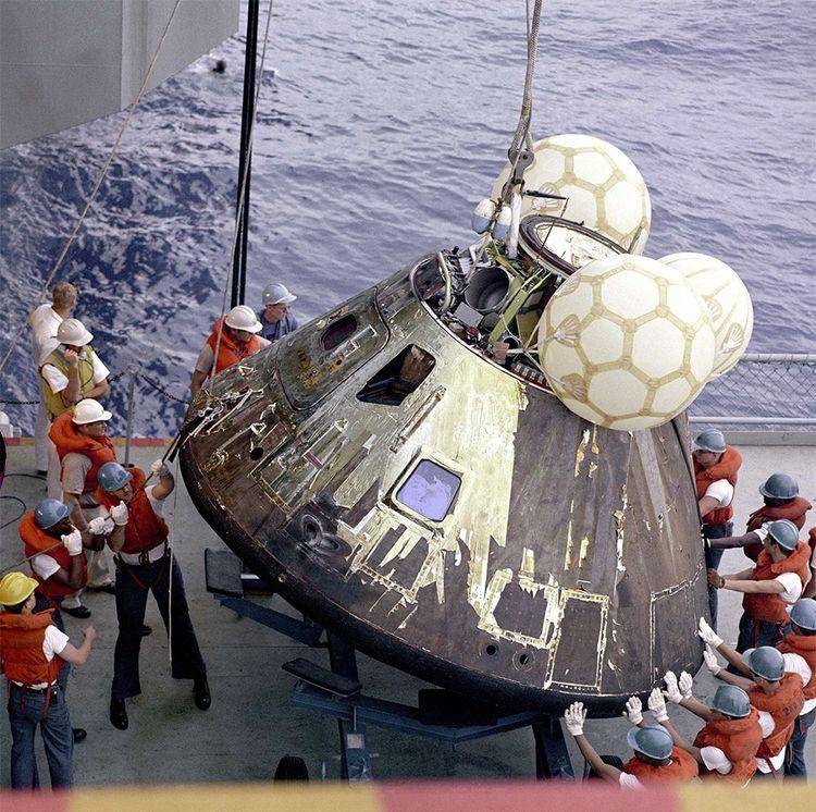 L'équipe d'Apollo 13