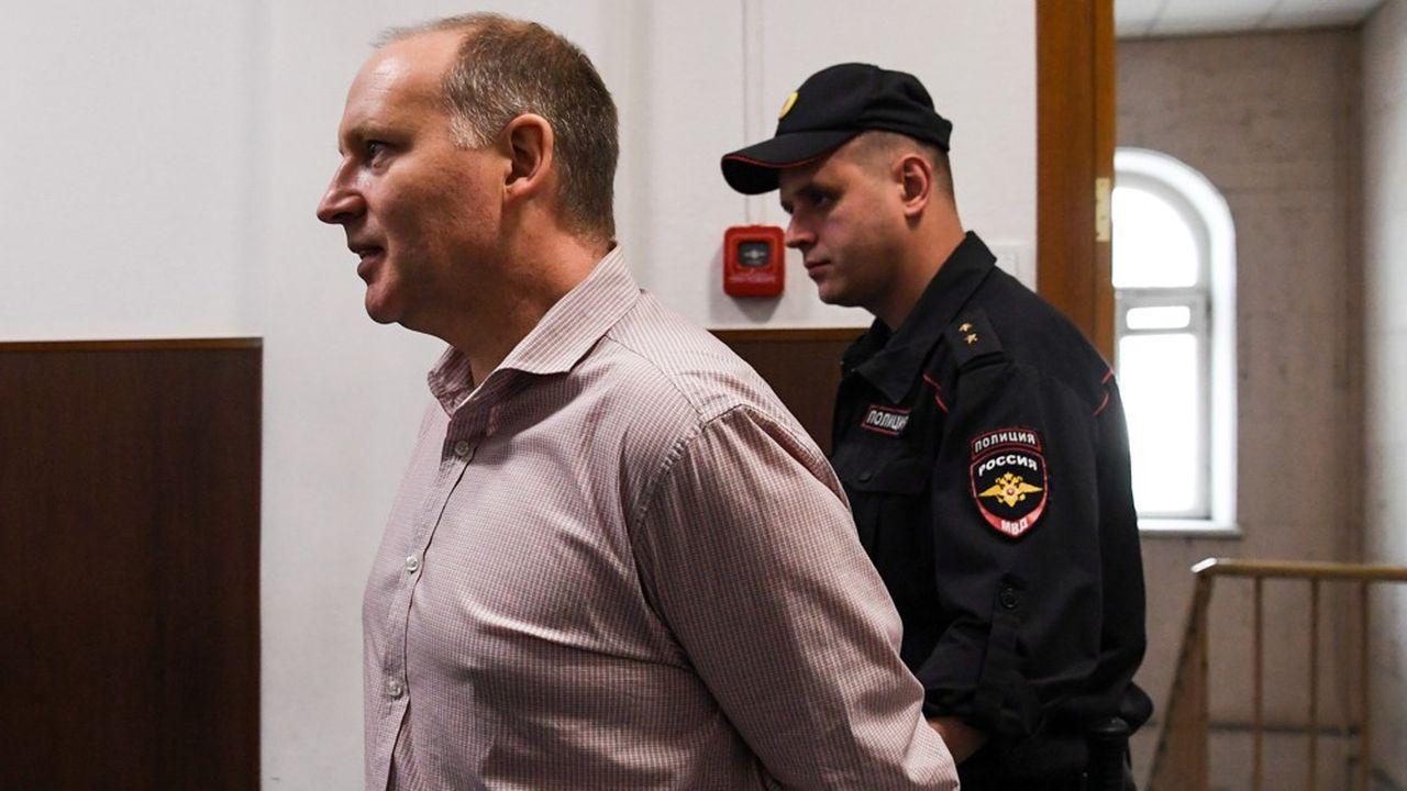 Philippe Delpal, le banquier français poursuivi en Russie pour fraudes, s'est longuement expliqué mercredi .