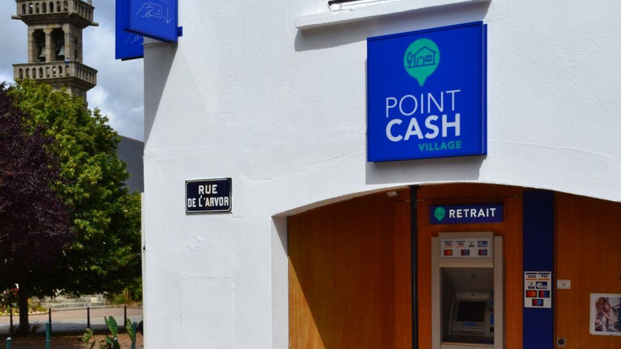 Brink's France exploite son premier distributeur de billets exploité en propre dans la commune de Locmaria-Plouzané (Finistère).