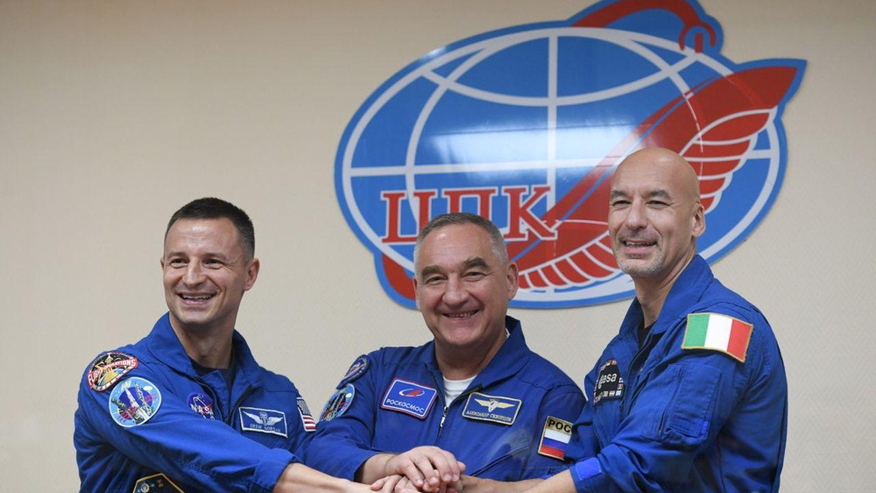 Andrew Morgan, Alexander Skvortsov et Luca Parmitanoont décollé à 16h28 GMT du cosmodrome de Baïkonour au Kazakhstan.