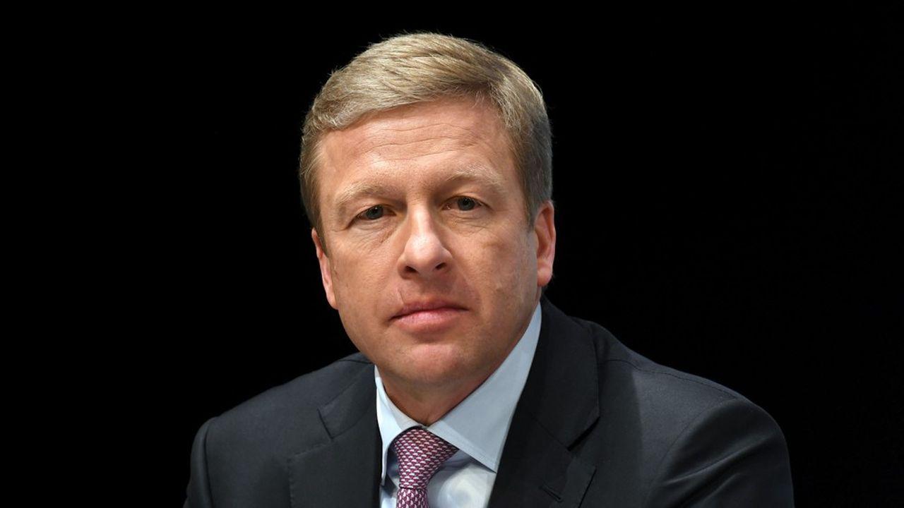 Oliver Zipse est entré en 1991 chez BMW, dont il est chargé depuis 2015 de la production