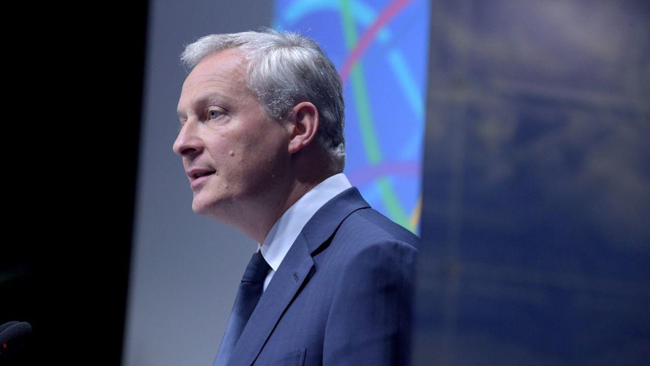 Bruno Le Maire, ministre de l'Economie, porte le projet de loi de taxation des géants du Net.