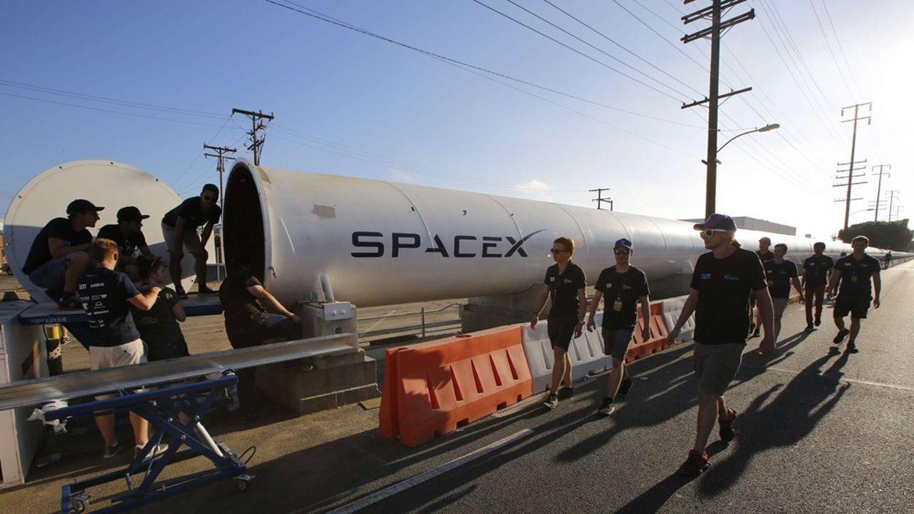 Pour la troisième année consécutive c'est une équipe allemande qui a remporté la dernière édition de l'Hyperloop Pods Competition