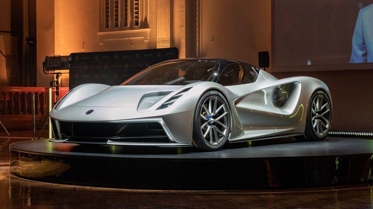 Lotus a dévoilé la semaine dernière un nouveau bolide tout électrique, l'Evija, son premier lancement depuis dix ans.