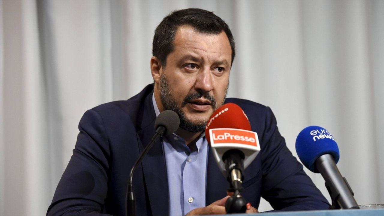 Le ministre de l'Intérieur, Matteo Salvini, reproche notamment au M5S d'avoir voté en faveur d'Ursula von der Leyen pour prendre la tête de la Commission européenne.