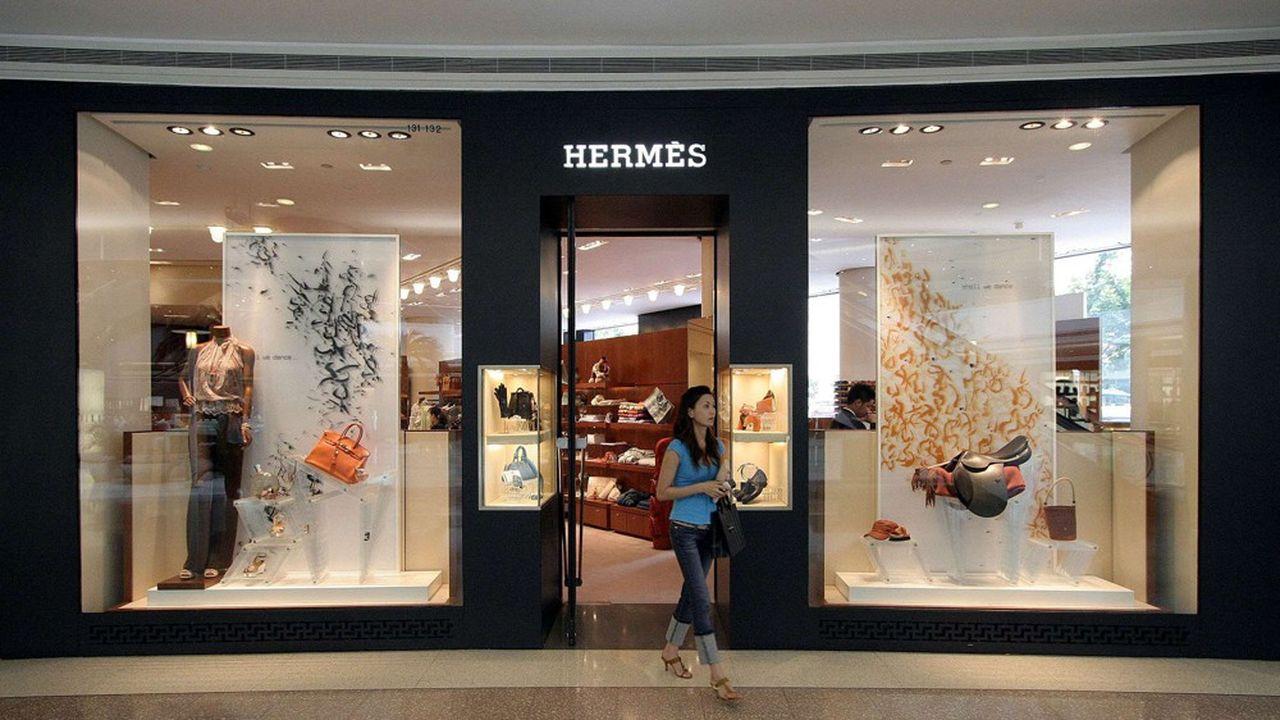 Hermès salue «la dynamique très favorable en Chine continentale, et une progression à deux chiffres dans tous les autres pays de la zone [Asie]» .