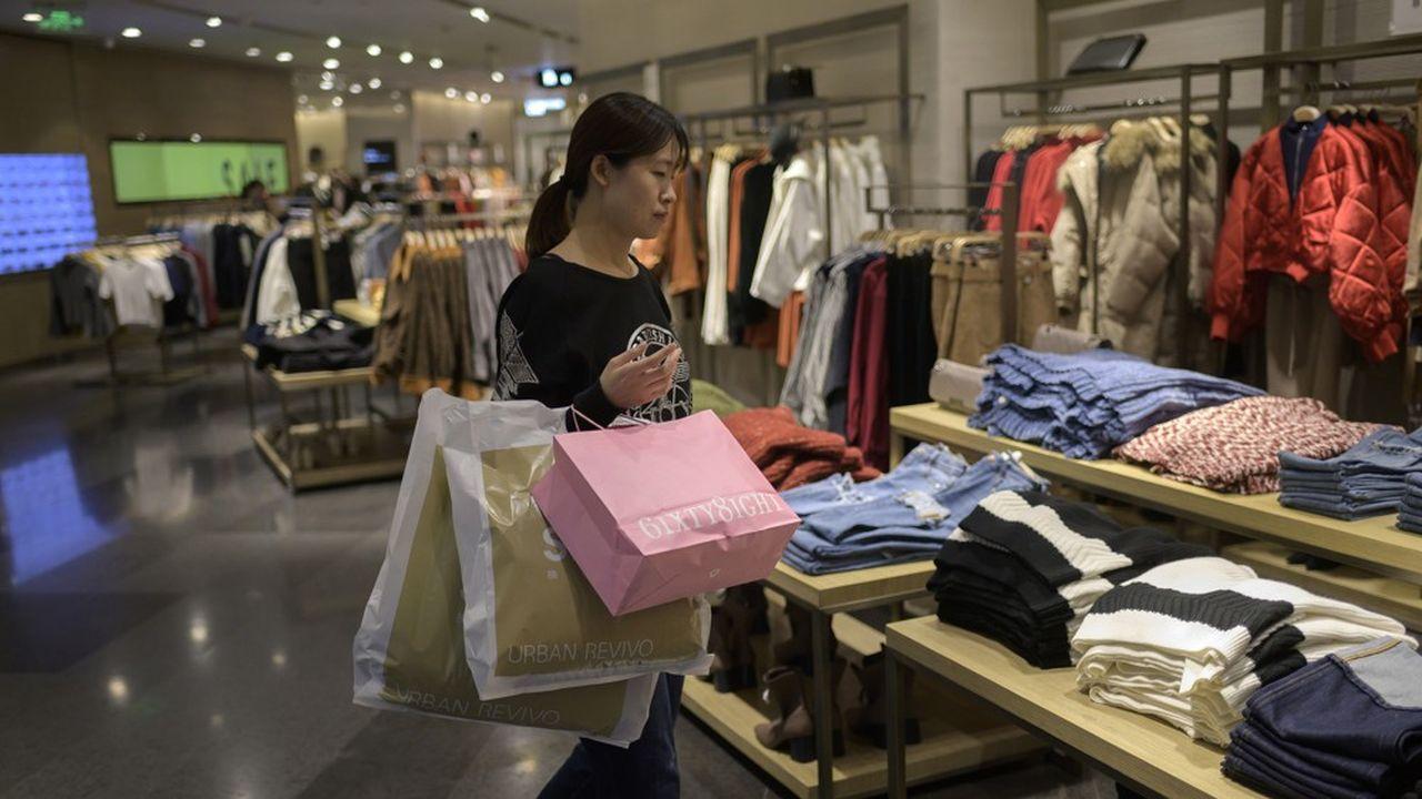 L'enrichissement des ménages chinois a eu une incidence sur une forte importation des services.