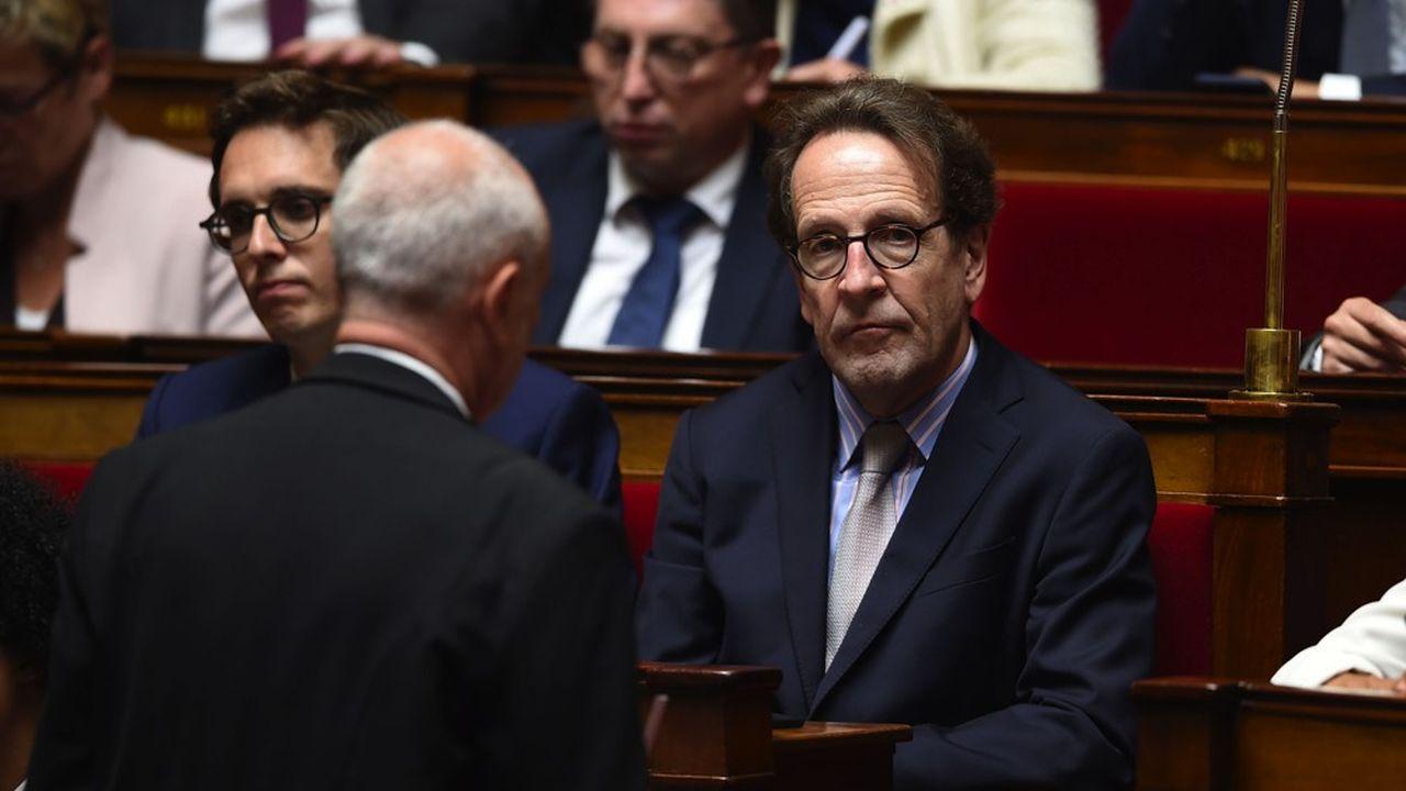 Gilles Le Gendre est président du groupe LREM à l'Assemblée depuis septembre2018.