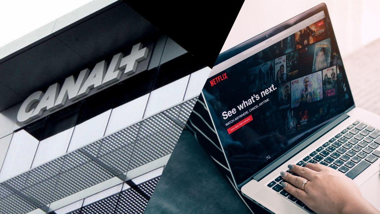 Le concurrent qui fait tant de mal à Canal+ s'appelle Netflix, service de vidéo à la demande.