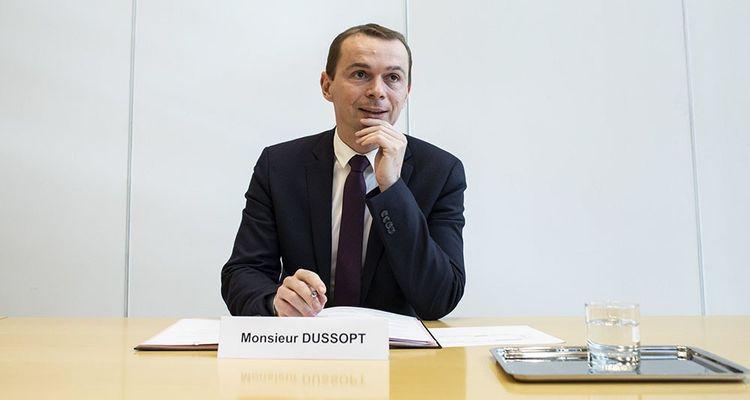 Olivier Dussopt, le secrétaire d'Etat en charge du dossier de la fonction publique.