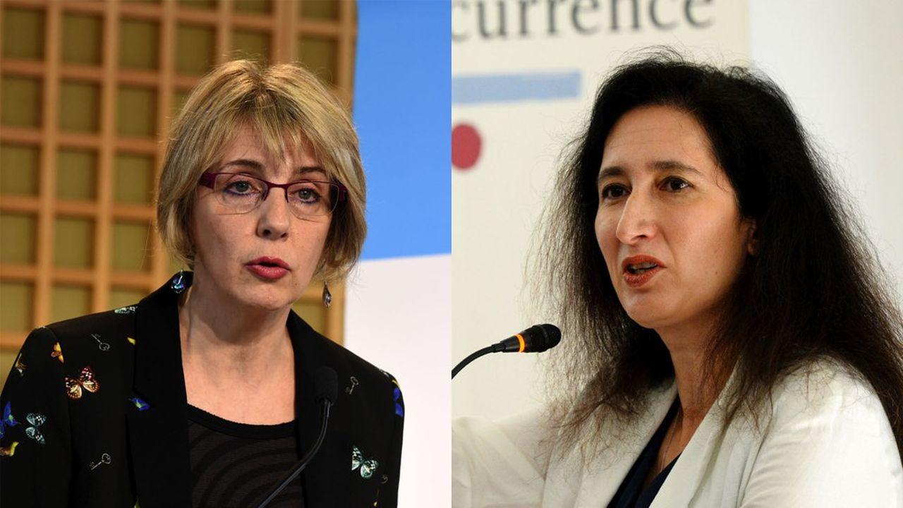 Avec cette charte, Virginie Beaumenier (à gauche) qui dirige la DGCCRF et Isabelle de Silva, la présidente de l'Autorité de la Concurrence, comptent améliorer l'efficacité du dispositif dual qui fait la singularité de la France.