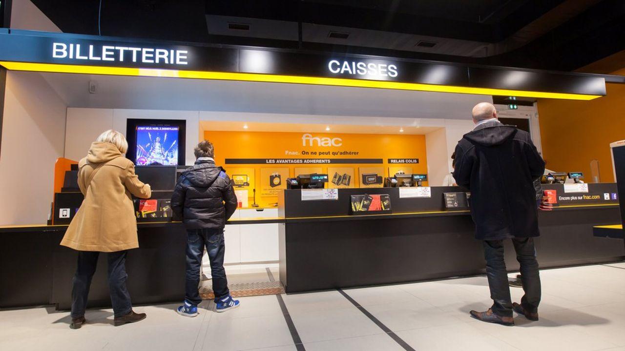 Filiale de Fnac Darty, France Billet commercialise 60.000 événements par an.