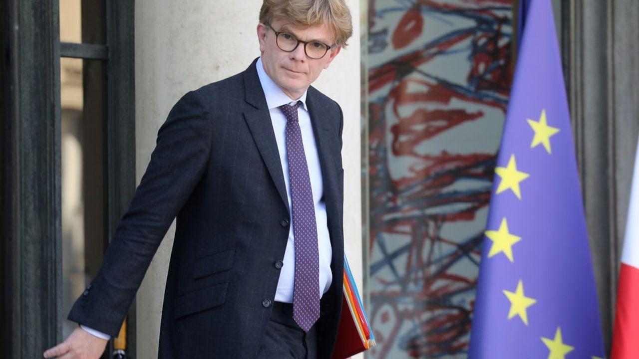 Marc Fesneau, ministre chargé des Relations avec le Parlement.