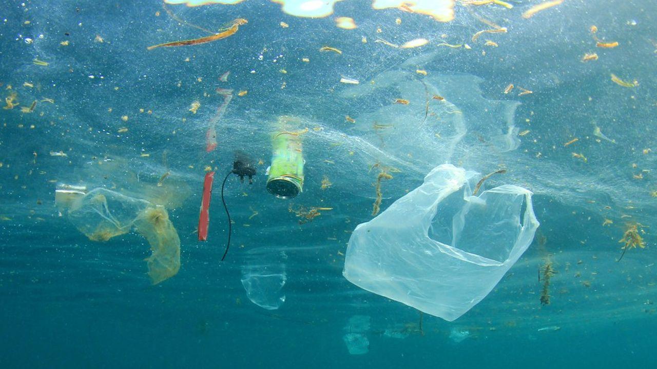 Photo d'illustration de pollution marine.