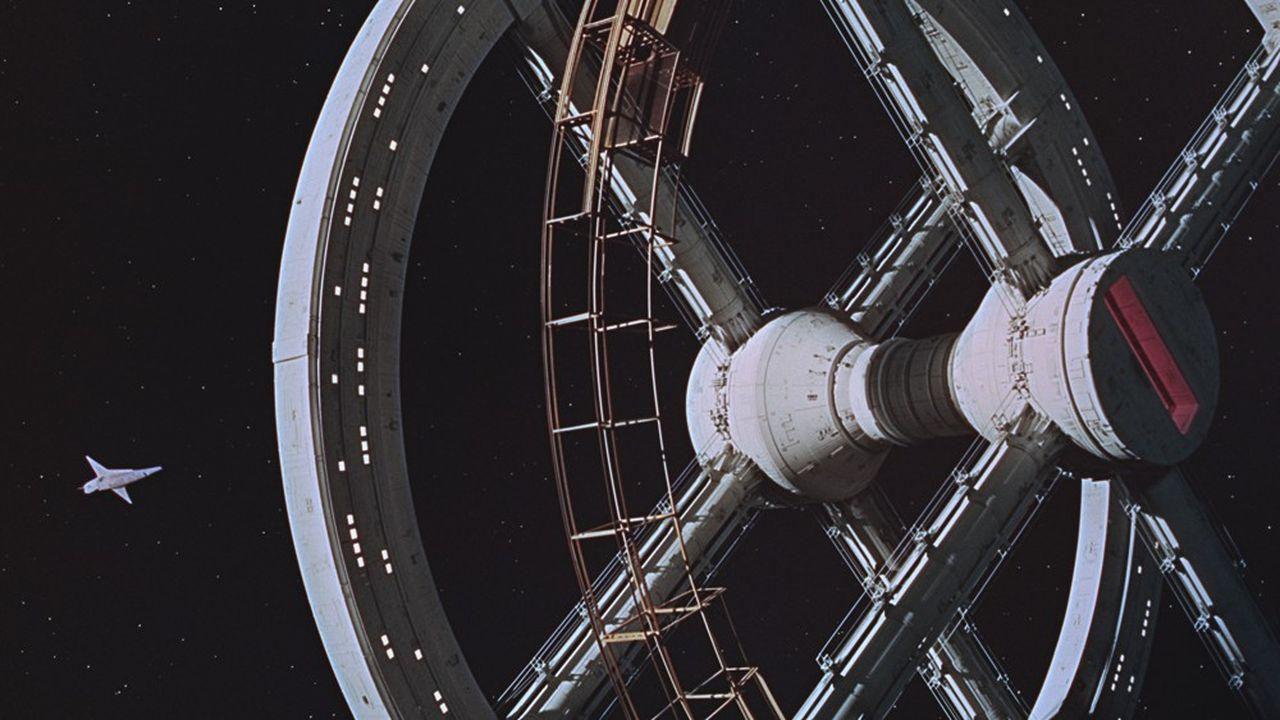 Extrait de '2001 : l'odyssée de l'espace' de Stanley Kubrick