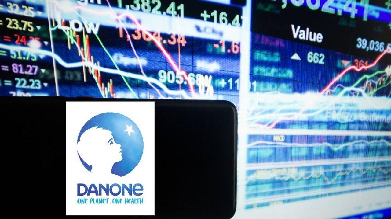 Danone a confirmé son objectif d'une marge de plus de 15% et une croissance organique de l'ordre de 3% cette année.