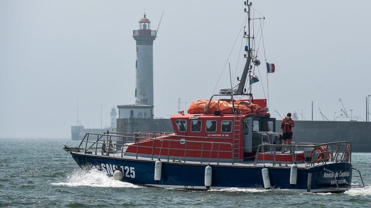 'Amiral de Castelbajac' un navire de la SNSM.