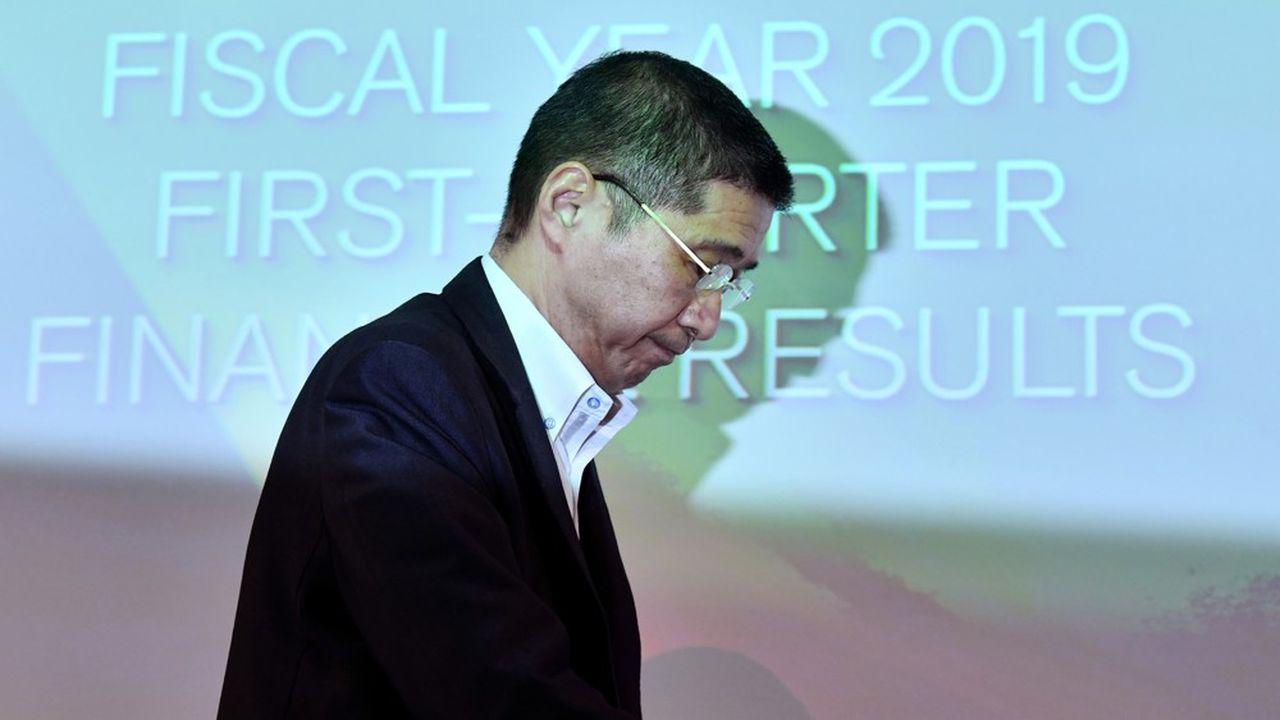 Hiroto Saikawa, le patron de Nissan, a présenté des résultats trimestriels peu reluisants. Il a décidé de couper dans les effectifs et les capacités de production du constructeur japonais.