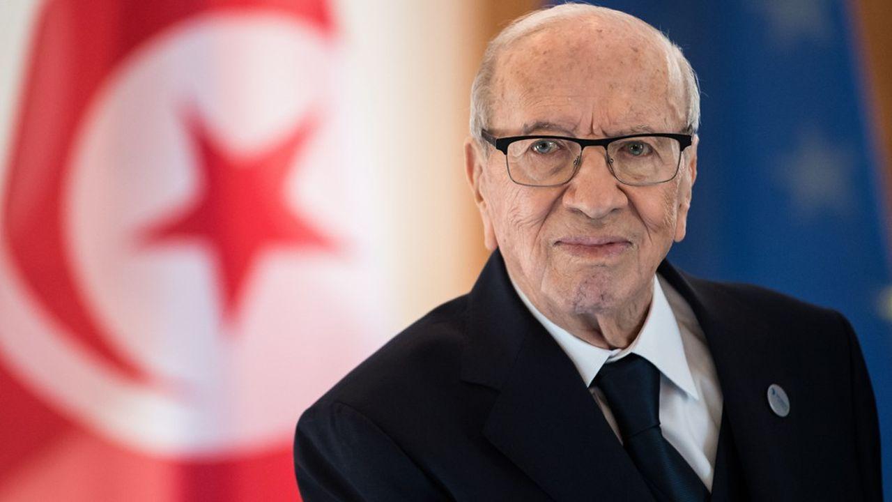 Beji Caid Essebsi avait été élu à l'âge de 88 ans président de la Tunisie.