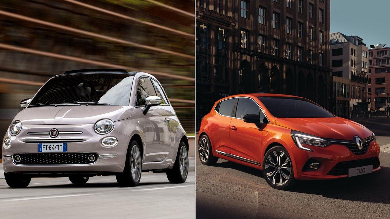 De la citadine Fiat 500 au SUV Renault Kadjar : les modèles emblématiques de la galaxie Renault-Fiat Chrysler