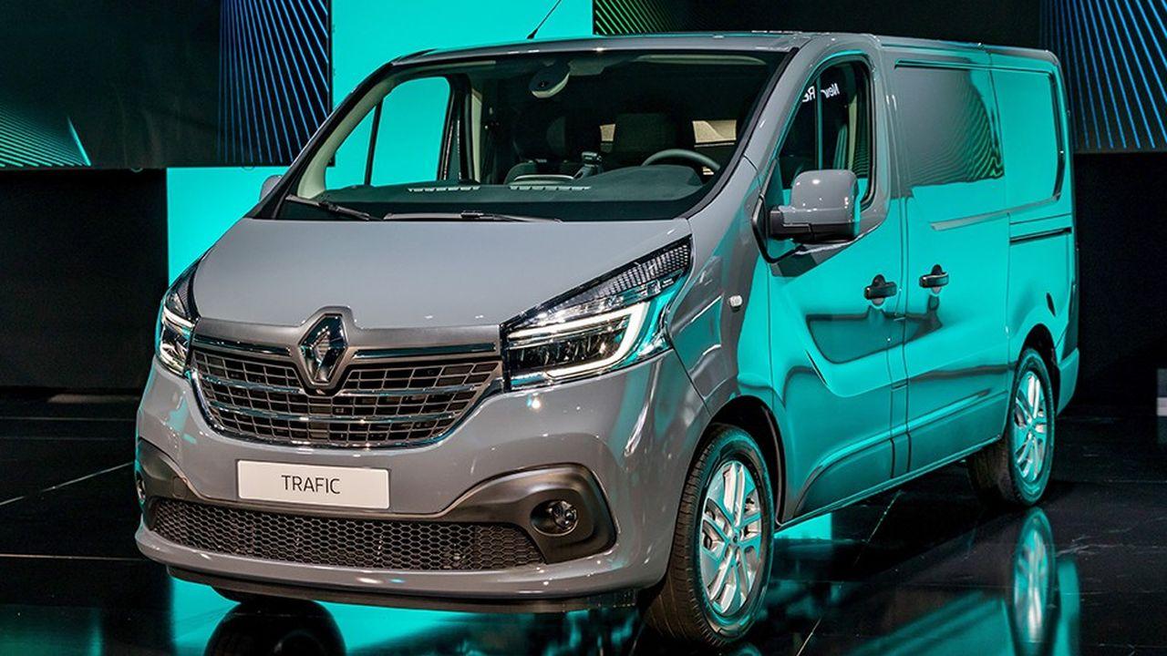 Renault a dévoilé mardi son nouveau Trafic, qui sera commercialisé à compter de septembre2019.