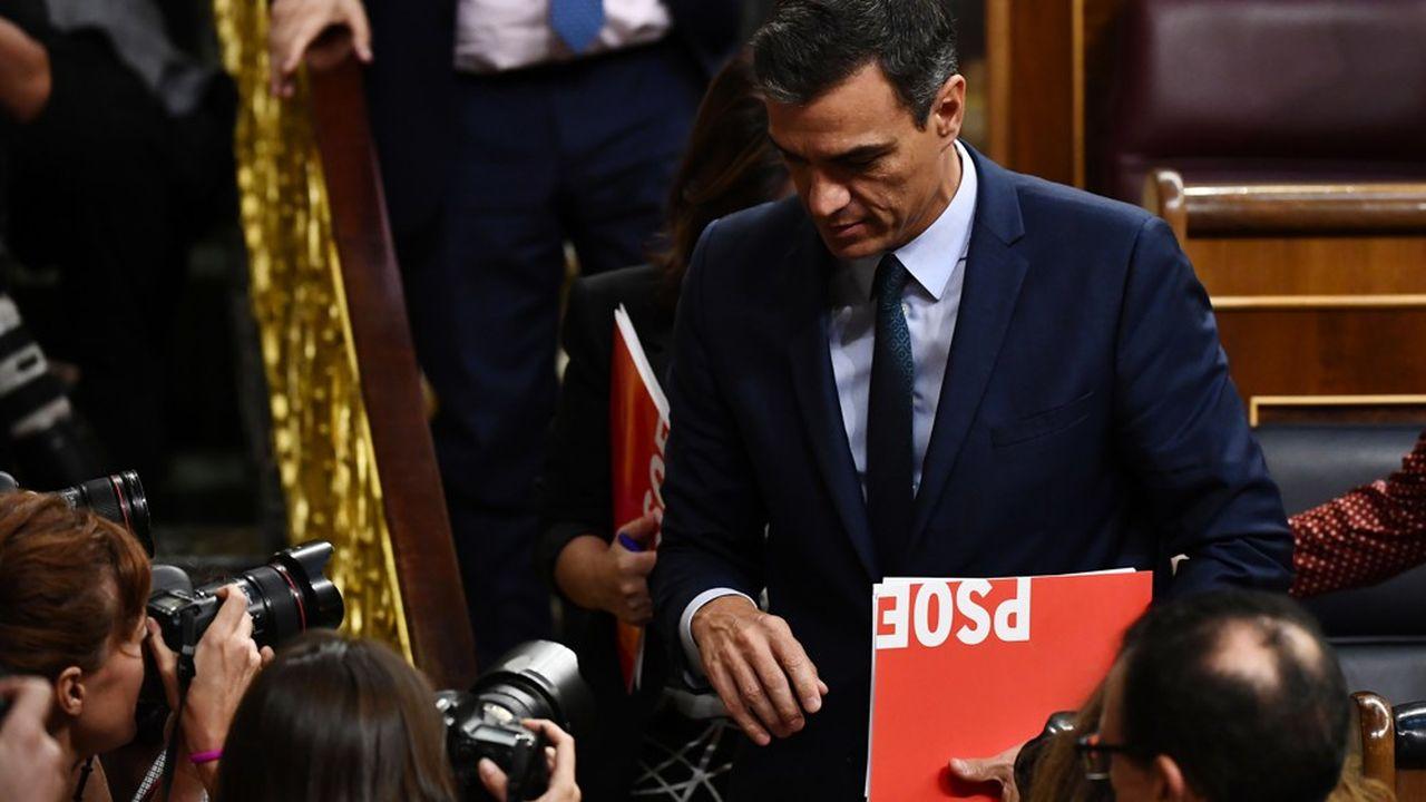 Le socialiste Pedro Sánchez n'a pas réussi à obtenir l'investiture du Parlement espagnol.
