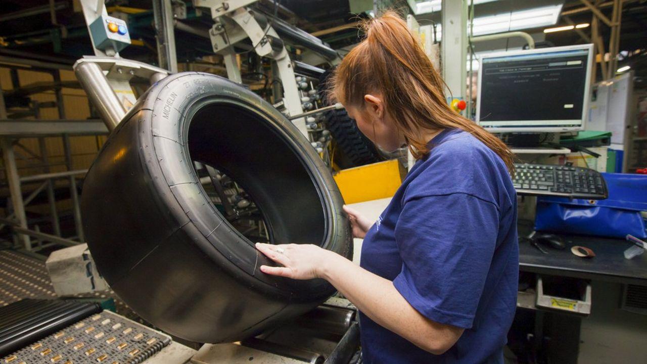 Le fabricant de pneus a vendu davantage de pneus à valeur ajoutée sur le semestre.