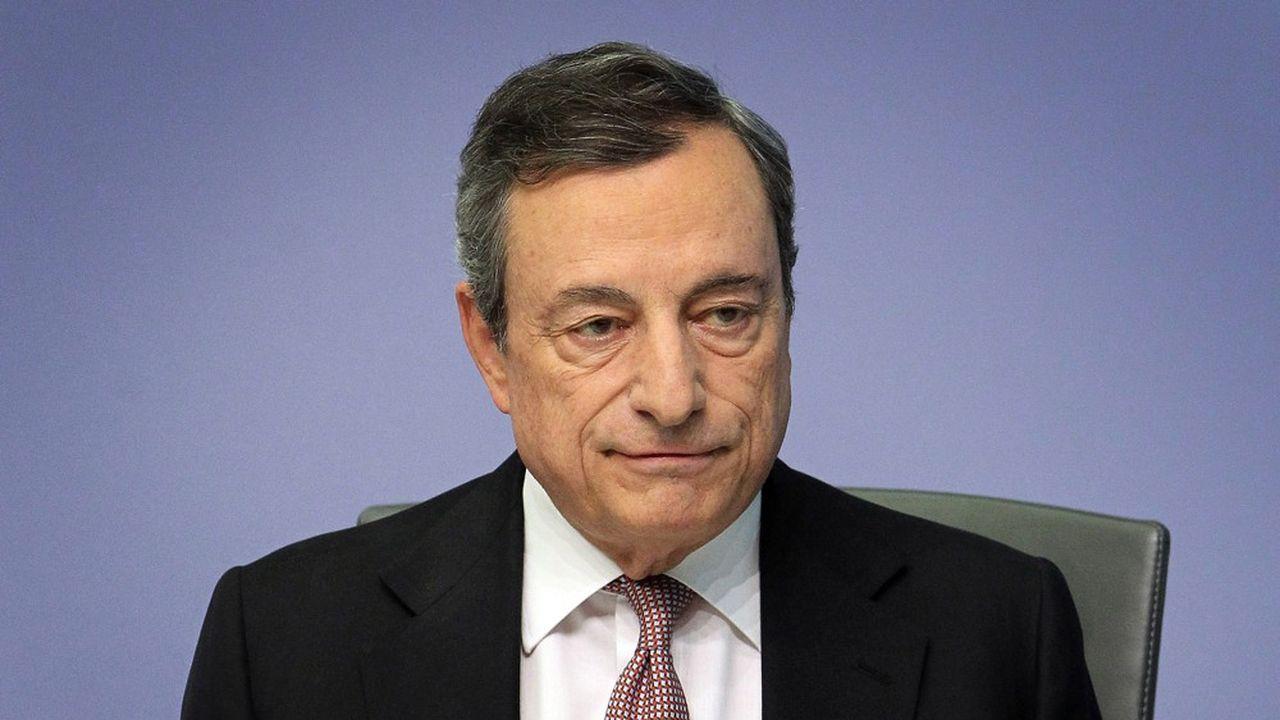 Malgré l'engagement de Mario Draghi, président de la BCE, à agir si nécessaire, les marchésont terminé en baisse ce jeudi.