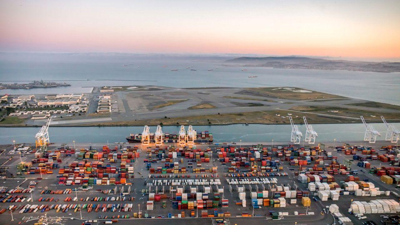 Le ralentissement des échanges commerciaux et l'incertitude des négociations sur ce sujet entre Washington et Pékin ont contribué au ralentissement de la croissance américaine au deuxième trimestre.