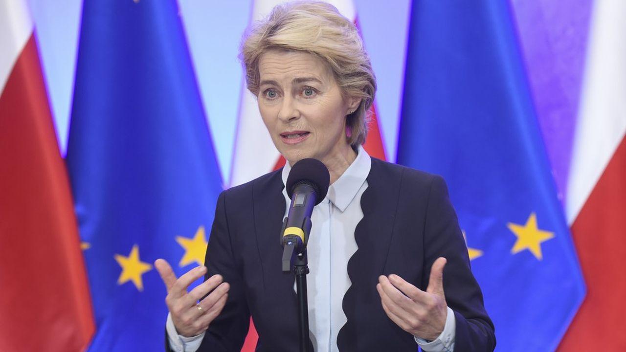 Ursula von der Leyen a officialisé la création d'un fonds de transition énergétique européen
