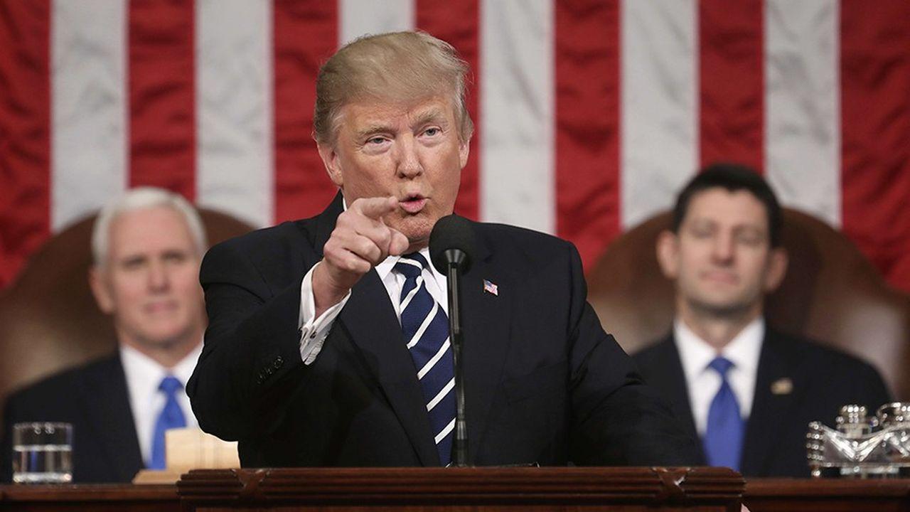 Donald Trump au Congrès