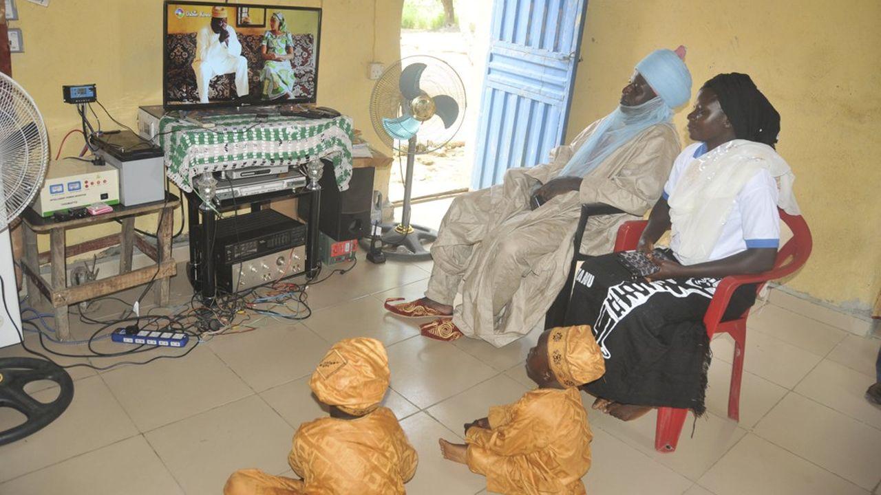 Le bouquet StarTimes est disponible dans une trentaine de pays, comme ici dans la capitale nigériane, Abuja.