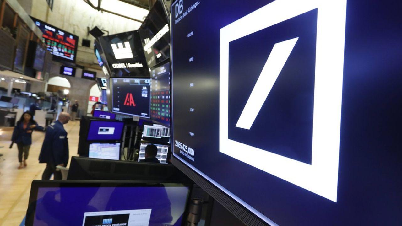 Dans le cadre de sa restructuration la banque allemande s'est engagée à débourser quelque 4milliards d'euros pour améliorer ses contrôles internes