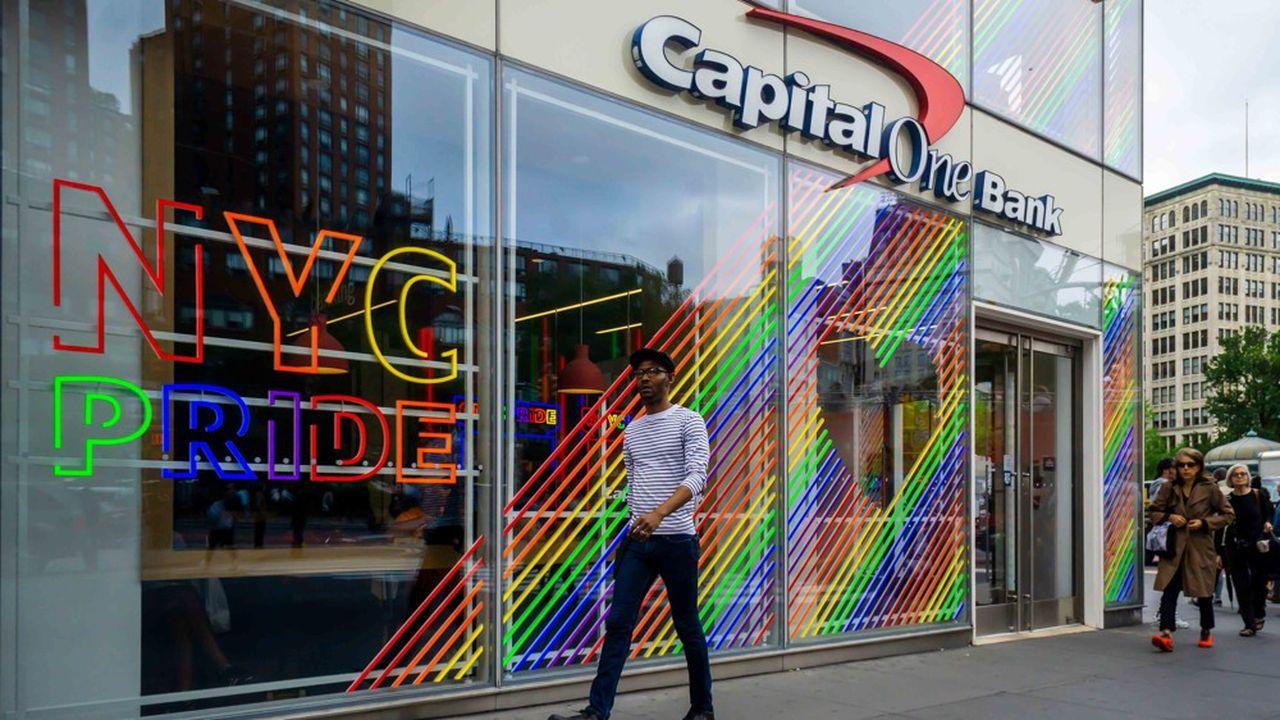 Capital One est l'un des principaux établissements bancaires aux Etats-Unis.