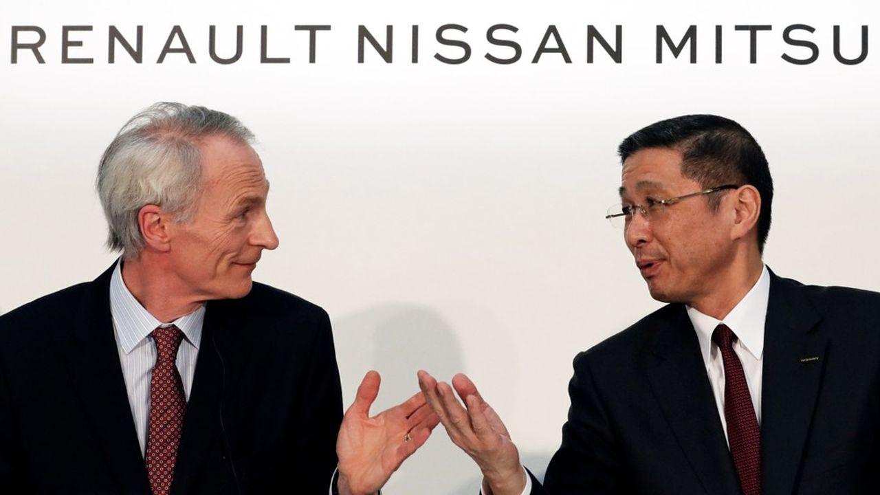 L'Alliance Renault-Nissan a vu Volkswagen et Toyota vendre plus de voitures qu'elle au premier semestre 2019.
